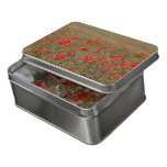 Poppy fields floral challenging jigsaw puzzle