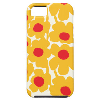 Poppy Floral Pattern iPhone 5 Cases