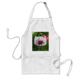Poppy Flower Adult Apron