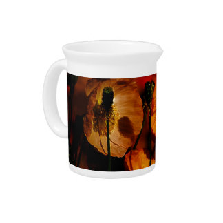 Poppy flower and its meaning drink pitchers