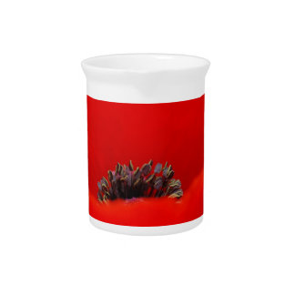 Poppy flower and meaning drink pitchers