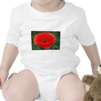 Poppy flower and meaning bodysuit