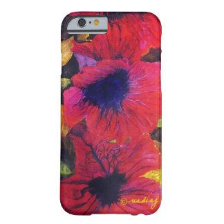 Poppy Flower Art Case Galaxy S4 Case