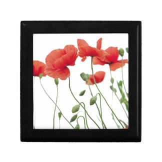 poppy-flower jewelry box