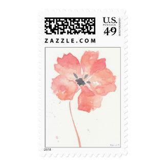 Poppy Flower Postage