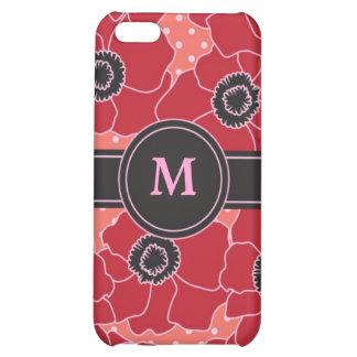 Poppy Flower Speck Case Case For iPhone 5C