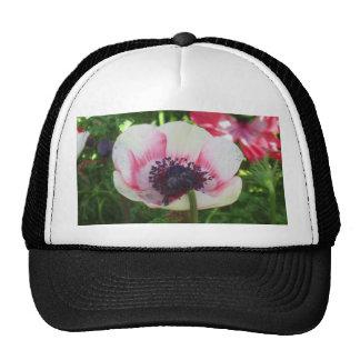 Poppy Flower Trucker Hat