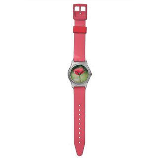 Poppy Flower Watch