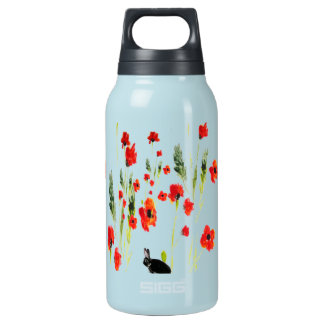 Poppy Flowers Bunny Rabbit SIGG Thermo 0.3L Insulated Bottle