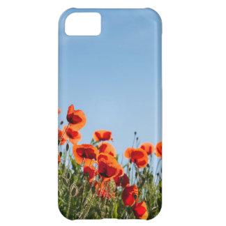 Poppy Flowers iPhone 5C Cases