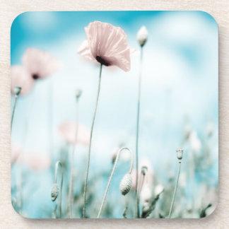 Poppy Flowers Coaster