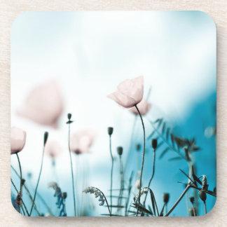 Poppy Flowers Coasters