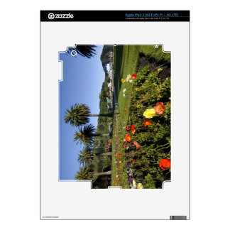 Poppy flowers, New Zealand iPad 3 Skin