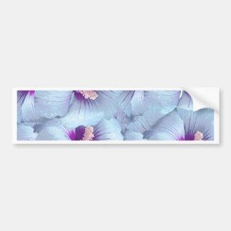 Poppy Flowers Pattern Bumper Sticker