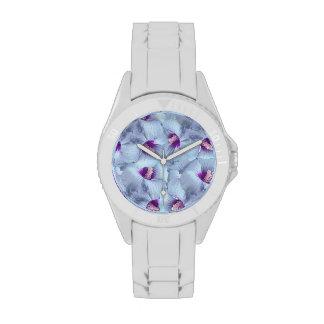 Poppy Flowers Pattern Wrist Watches