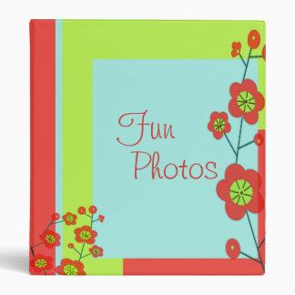 Poppy Fun Photo Album Customizable 3 Ring Binder
