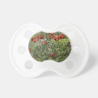 Poppy Grunge Design BooginHead Pacifier