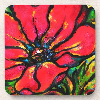 Poppy I Beverage Coaster