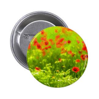 poppy I Pinback Button