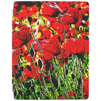 poppy iPad smart cover