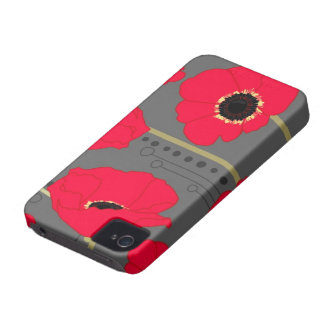 Poppy iPhone 4 Case-Mate Case