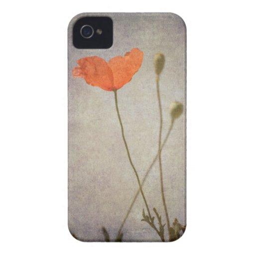Poppy iPhone 4 Protector