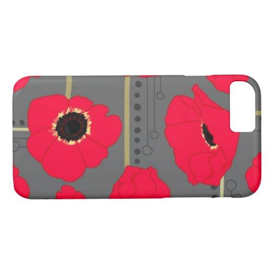 Poppy iPhone 7 Case