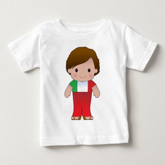 Poppy Italian Boy Baby T-Shirt