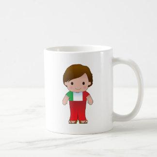 Poppy Italian Boy Coffee Mug
