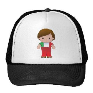 Poppy Italian Boy Trucker Hat