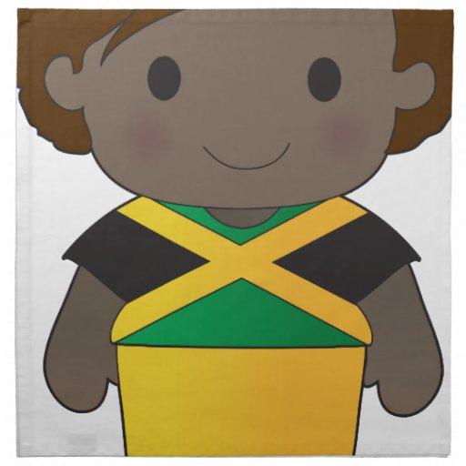 Poppy Jamaica Boy Cloth Napkins