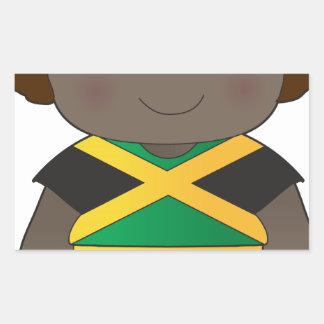 Poppy Jamaica Boy Stickers