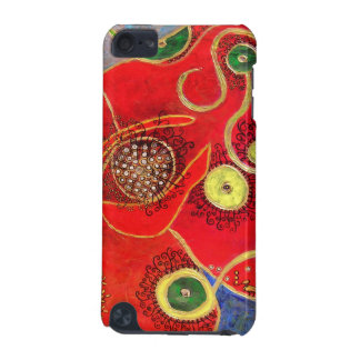 poppy & juggler (painting) ipod touch case
