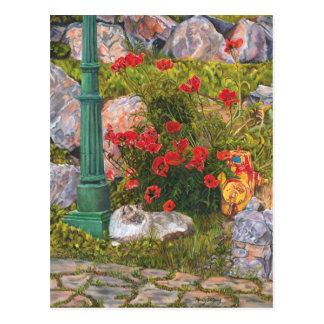Poppy Lane Postcard