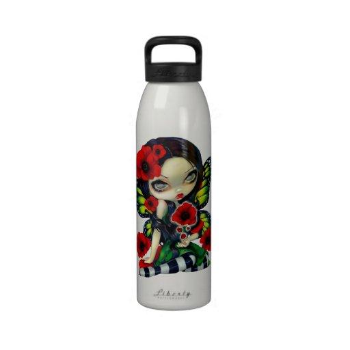"""""""Poppy Magic"""" Bottle Reusable Water Bottle"""