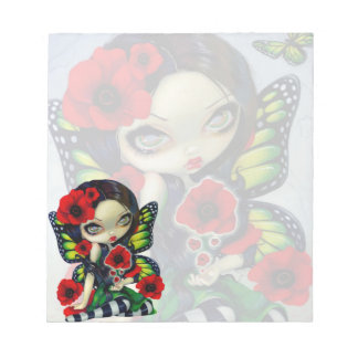 """Poppy Magic"" Note Pad"