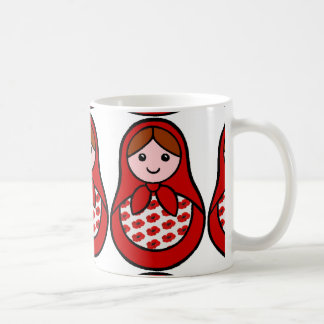 Poppy Matryoshka Mug