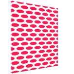 Poppy Modern Oval at Emporiomoffa Stretched Canvas Prints
