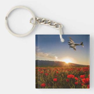 Poppy Mossie Keychain