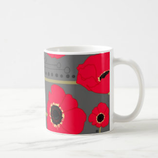 Poppy Classic White Coffee Mug