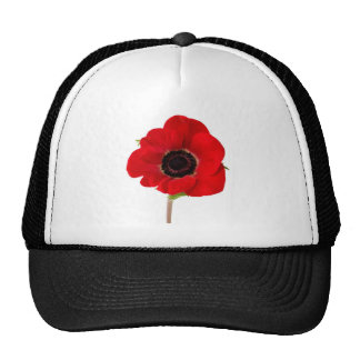 POPPY of Remembrance Trucker Hats