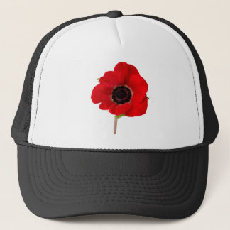 POPPY of Remembrance Trucker Hat