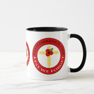 Poppy on cross - Mug