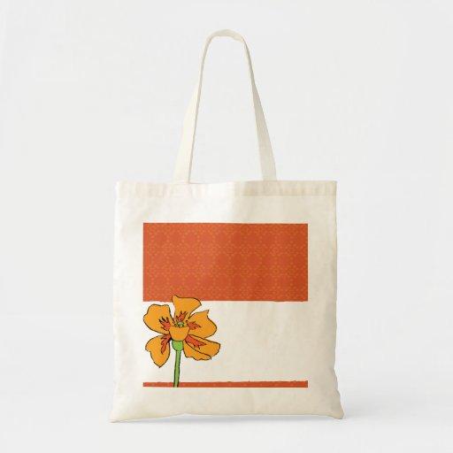 Poppy Orange Bags