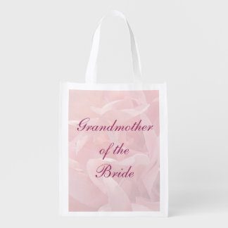 Poppy Petals Grandmother of the Bride Tote Grocery Bag