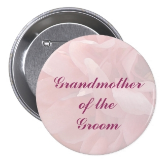 Poppy Petals Grandmother of the Groom Pin