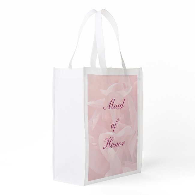 Poppy Petals Maid of Honor Tote