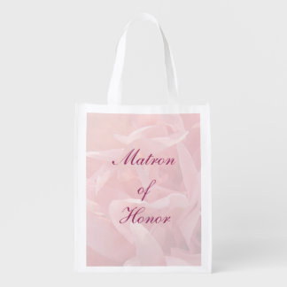 Poppy Petals Matron of Honor Tote Grocery Bag