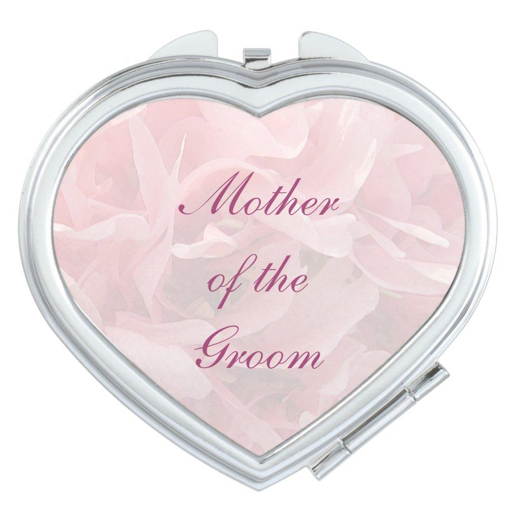 Poppy Petals Wedding Mother of the Groom Makeup Mirror