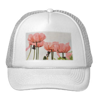 Poppy Picture Mesh Hats